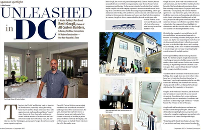 Unleashed in DC: A Master Builder, A Rare Breed [Real Estate